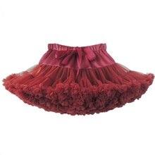 Новинка года; юбка-пачка для маленьких девочек юбка-американка для балерины вечерние Многослойные Детские балетные юбки для танцев; фатиновая мини-юбка принцессы для девочек