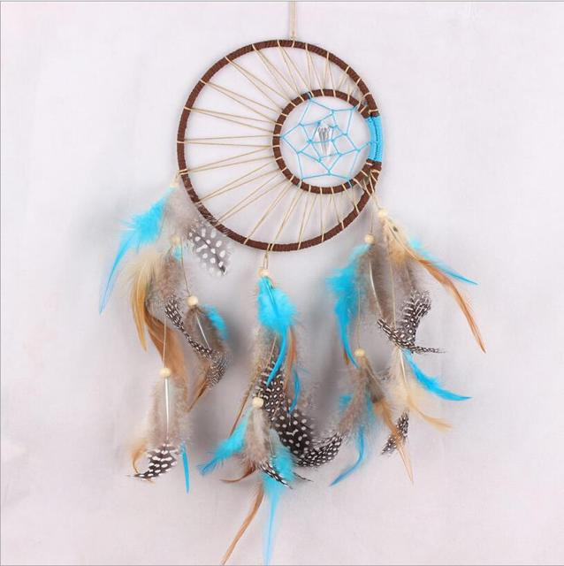 Living Room Ornaments How To Decorate A Large Rectangular New Creative Sun Moon Feather Dream Catcher Home Crafts Hanging Decoration Handmade Craft Decor