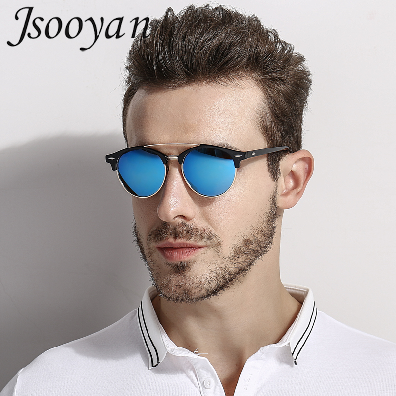 3f077499d3ac Jsooyan Retro Round Polarized Sunglasses Women Men Unisex Brand Designer Sun  Glasses Couples Club Party Eyewear