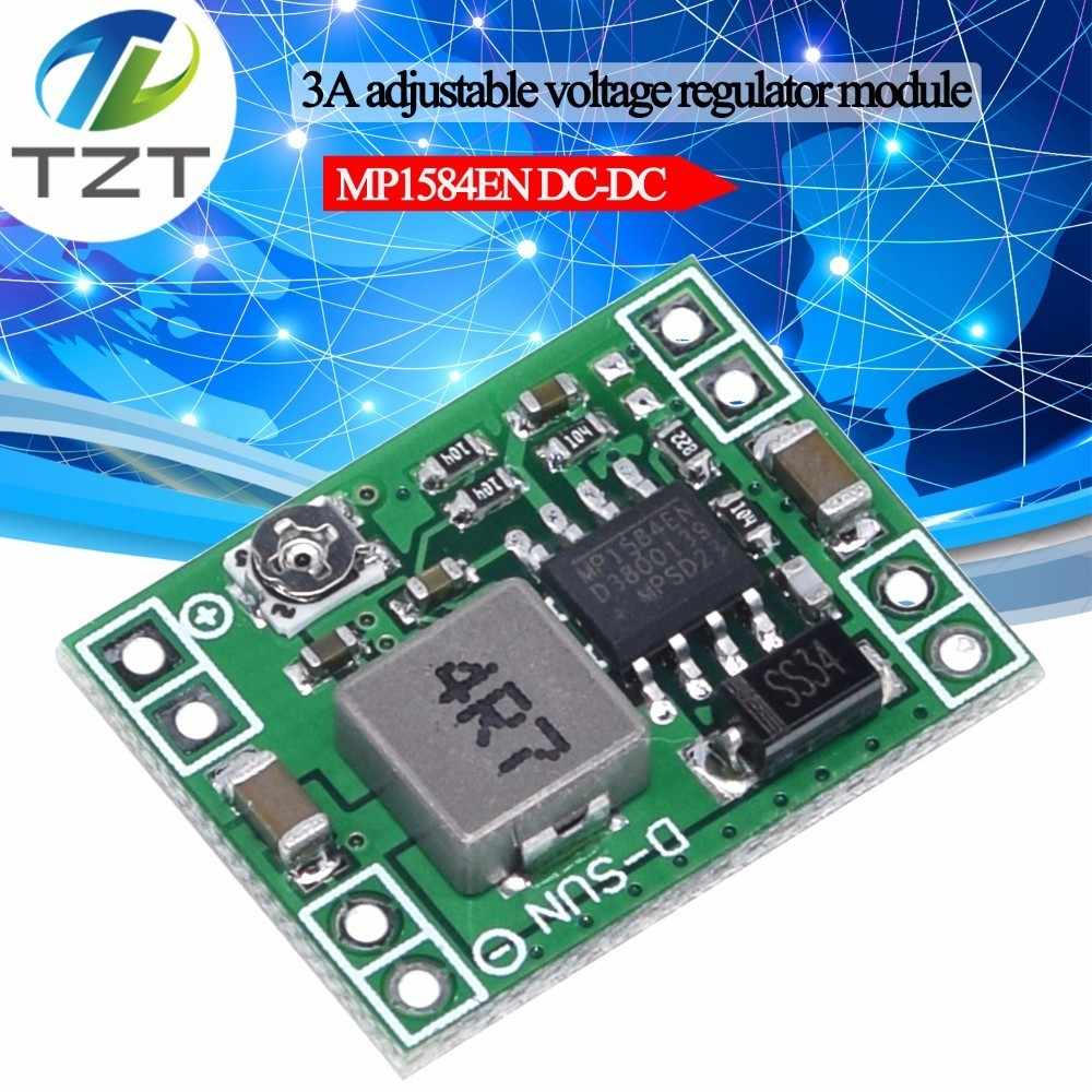 TZT XM1584  Ultra-small size DC-DC step-down power supply module 3A adjustable step-down module super LM2596