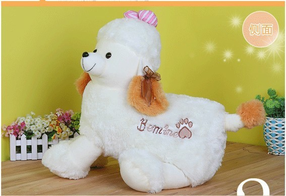 Free shipping dog plush toy 42cm size dog doll Shepherd poodle plush doll gift for kids