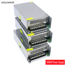 Led de conmutación fuente de alimentación Ac a 24 V Dc 12 V 48 V para controlador de iluminación 1000 W DC constante tensión ajustable fuente de alimentación 12 V
