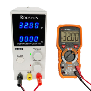 Image 3 - New 30V 10A DC Power Supply Adjustable 4 Digit Display Mini Laboratory Power Supply Voltage Regulator K3010D For Phone Repair