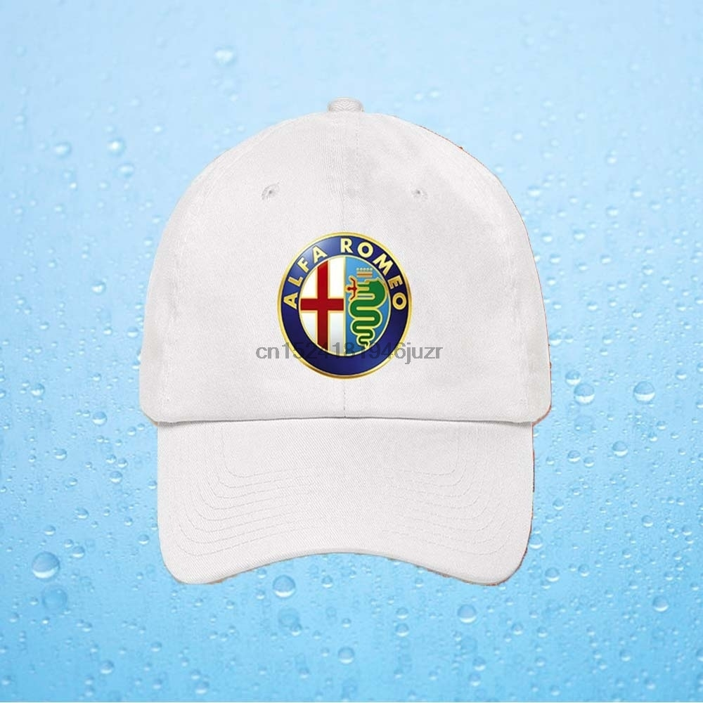 e2bf770a186 New Alfa Romeo Car Logo Hats Baseball Cap Unisex Adjustable Size-in Baseball  Caps from Apparel Accessories on Aliexpress.com