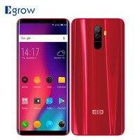 Elephone U Pro Qualcomm Snapdragon 660 Android 8,0 сотовых телефонов 5,99 Face ID смартфон 6 ГБ Оперативная память 128 ГБ встроенная память 3550 мАч мобильного телефона