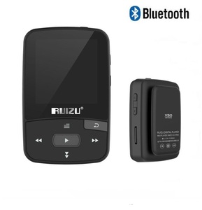 Image 2 - Original RUIZU X50 Sport Bluetooth MP4 Player 8GB Clip Mini Music MP4with Screen Support FM,Recording,E Book,Clock,Pedometer