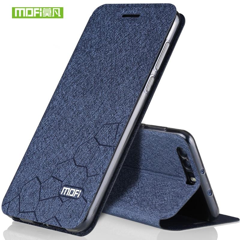 Huawei honor 9 case cover silicon luxury flip leather original mofi Huawei honor 9 case 5.15 transparent tpu back metal fundas