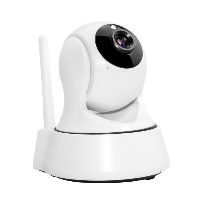 HD Wireless Security IP Camera WifiI Wi-fi R-Cut Night Vision Audio Recording Surveillance Network Indoor Baby Monitor homtrol ht sc800e hd wireless indoor ip camera memory storage audio recording tf card slot ir cut infrared ip camera wifi