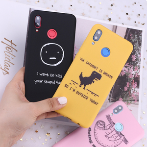 For Samsung A31 S8 S9 S10 S10e S20 Plus Note 8 9 10 A7 A8 Funny Sloth Memes Quotes Tumblr Candy Silicone Phone Case Capa Fundas