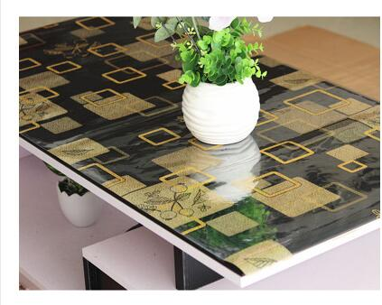 Perfect 1.5mm Thickness PVC Table Cloth Table Waterproof Plastic Tablecloths TV  Cabinet Table Mat Hot Garden