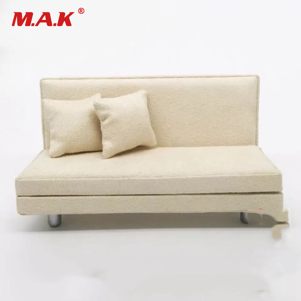 Tremendous Us 25 65 8 Off 1 12 Scale Action Figure Iron Man Accessory White Sofa Model With Two Pillows For Mk42 Mk43 Iron Man Figure In Action Toy Figures Squirreltailoven Fun Painted Chair Ideas Images Squirreltailovenorg