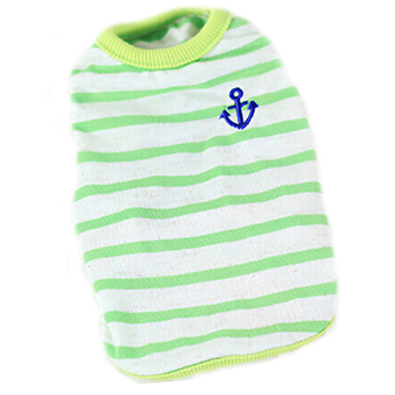 ᐃRayas Bebé Ropa marinero ancla leche cachorro ropa para mascotas ...
