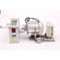 ac Servo motor 220V 110V 400w brushless Sewing machine energy saving normal lock synchronous double fixed needle industrial