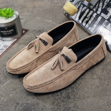 2019 Luxury Brand Fashion Summer Style Soft Moccasins Loafers High Quality Genuine Leather Shoes Men Flats Driving Shoes KC75
