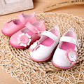 Baby Girls Shoes Soft Bottom PU Flowers Shoes Infant Sweet Princess Shoes