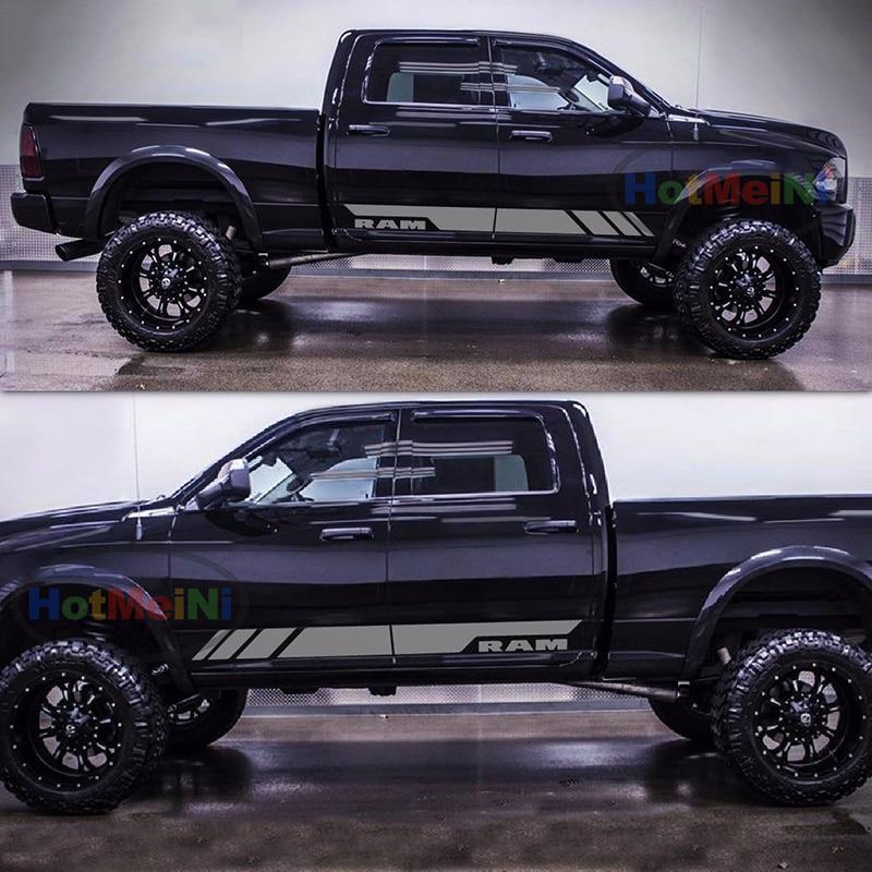 Ram Truck 1500 2500 3500 Scar Decal Kit 2017 2016 2015 2014 HEMI Dodge Mopar