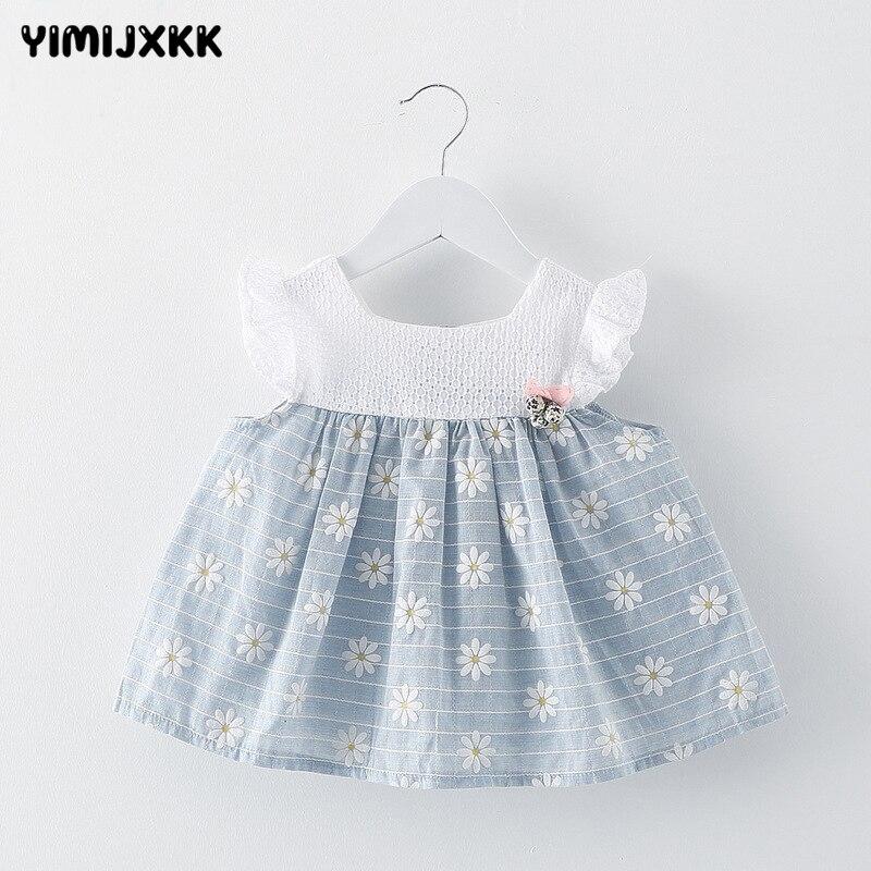 Aliexpress Com Buy Summer Baby Girl Party Dress Cotton
