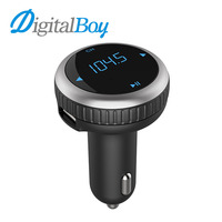 Digitalboy Беспроводной Bluetooth Автомобильный fm-трансмиттер MP3 музыкальный плеер комплект Авто Радио аудио стерео плеер громкой связи Dual USB Зарядн...