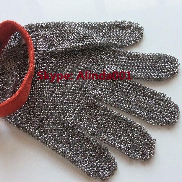Chain Mesh Butcher Tools Shop Supplier Gloves Hand Wear Metal Mesh Glove Anti Cut Glove Cut