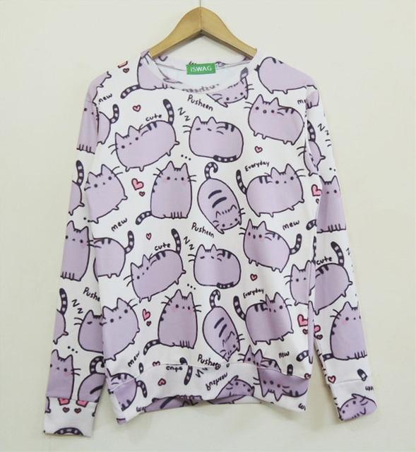 Aliexpress.com : Buy 2015 new fashion women's sweatshirts 3D ...