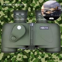 Rouya 8x30 HD военно компактный профессиональный бинокль с Компасы Перекрещение источника света ночного видения окуляр фокусировки