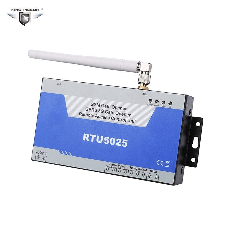 New RTU5025 GSM Gate Opener Swing Sliding Garage Door Open Remote Controller Quad Band Factory Sell Support GPRS Communicate powerful swing door opener electric swing door operator