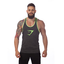 New brand Gyms Clothing Tank Tops Fitness Mens Bodybuilding Tops Cotton Vest For Muscle Men body engineers Shirt Workout gasp