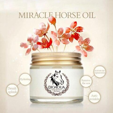 BIOAQUA Anti-Aging Day Cream Horse Oil Ointment Whitening Moisturizing Anti Wrinkle Cream Skin Care Facial care Islamabad