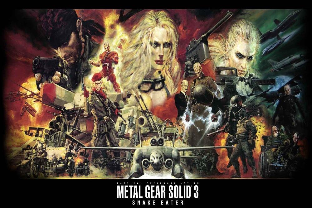 Online Shop Custom Canvas Art Metal Gear Solid Poster Metal Gear ...