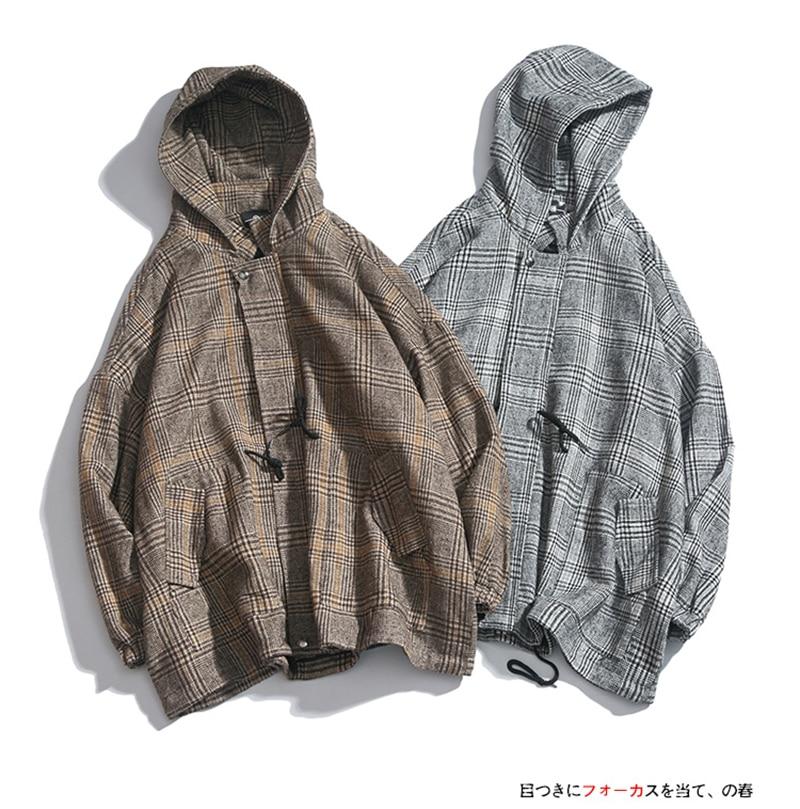 Male Long Coat Oversize Lapel Button Sobretodos Hombre Overcoat Streetwear (3)