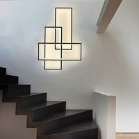 Nordic wall lamp creative personality living room wall lamp post modern minimalist stairwell aisle bedroom bedside lamps