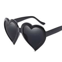 e5d540ef539 MOSILIN love heart sunglasses women cat eye vintage Christmas gift black  pink red heart shape sun