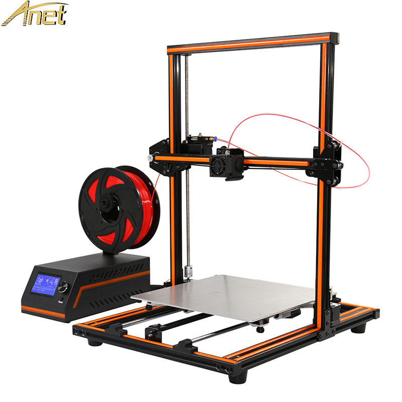 Haute Précision Anet E12 E10 A6 A8 A2 3D Imprimante Pas Cher 3D imprimante en Chine, new York et Euro Entrepôt 10 M PLA comme Cadeau