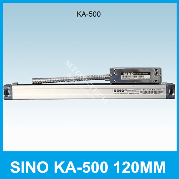 Free shipping SINO KA-500 120mm 5um linear encoder measurement  KA500 0.005mm 120mm digital readout for milling machine lathe free shipping high precision easson gs11 linear wire encoder 850mm 1micron optical linear scale for milling machine cnc