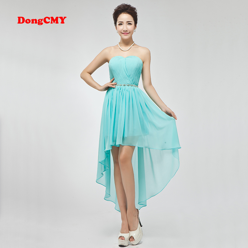 DongCMY new 2019 Design short design vestio de noiva double-shoulder girl   bridesmaid     dress