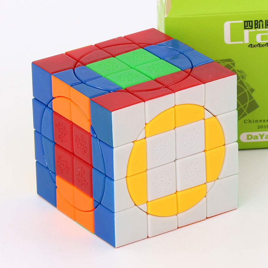 Magic Cube puzzle mf8 Dayan Crazy 4x4x4 4*4*4 v3 collection must  professional educational twist wisdom logic toys puzzle cube|Magic Cubes| -  AliExpress