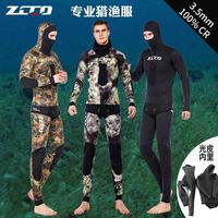 Unisex Full Body Diving Suit Men Women Scuba Diving 3.5MM Wetsuit Swimming Surfing UV Protection Snorkeling Spearfishing Wetsuit