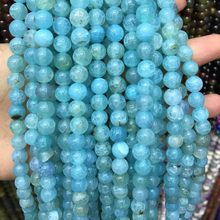 цена на 6 8 10mm Natural Onyx Stone Beads Fire Dragon Veins Beads Round  beads 16 strand for diy jewelry making Bracelet Accessories