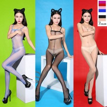 Summer Pantyhose Underwear Boob Tube Breathable Bodystocking Cheap Pantyhose Compression Stockings Tube Top Strap Shoulder Thin light blue cold shoulder thin strap top