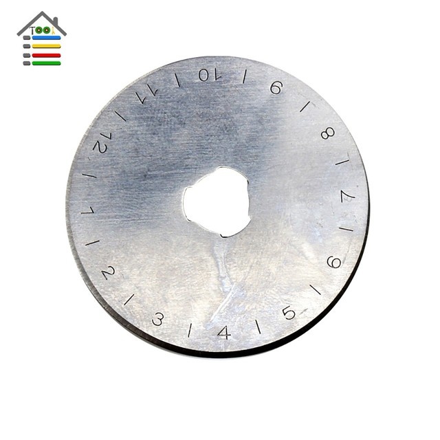 Leather Craft Circular Paper Cloth Cut Refill Sewing Quilting for Olfa 10pcs SKS-7 45MM Rotary cutter blades Patchwork Fabric