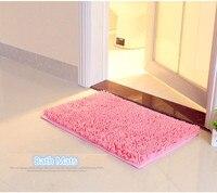 50x80cm Foyi Chenille Home Carpet Doormat Kitchen Bathroom Soft Bath Mats Absorbent Non Slip Shower Mats