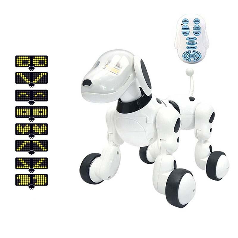 Enfants jouets sans fil télécommande Intelligent Robot chien électronique animal de compagnie enfant éducation précoce Puzzle électrique jouet chien