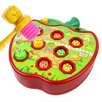 Electric Apple Whack A Mole Electric Educational Toys Children S Toys