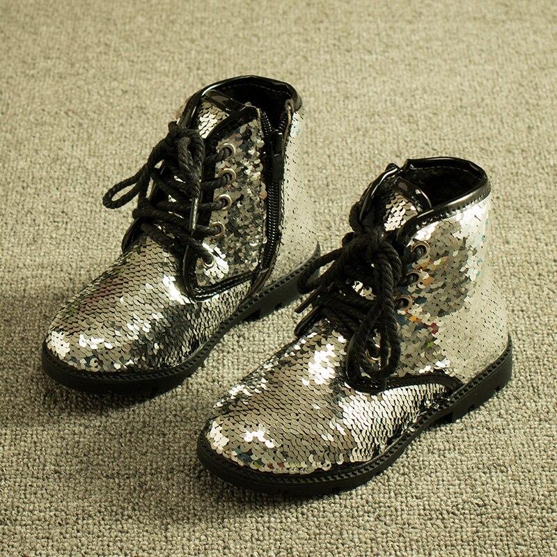 Aliexpress.com : Buy Gold Silver Bling Jordan Baby Boots Kids ...