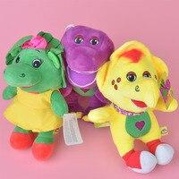 3 Stücke Barney Dinosaur Plüsch Spielzeug, Baby Kinder Puppe mit Kostenloser Versand