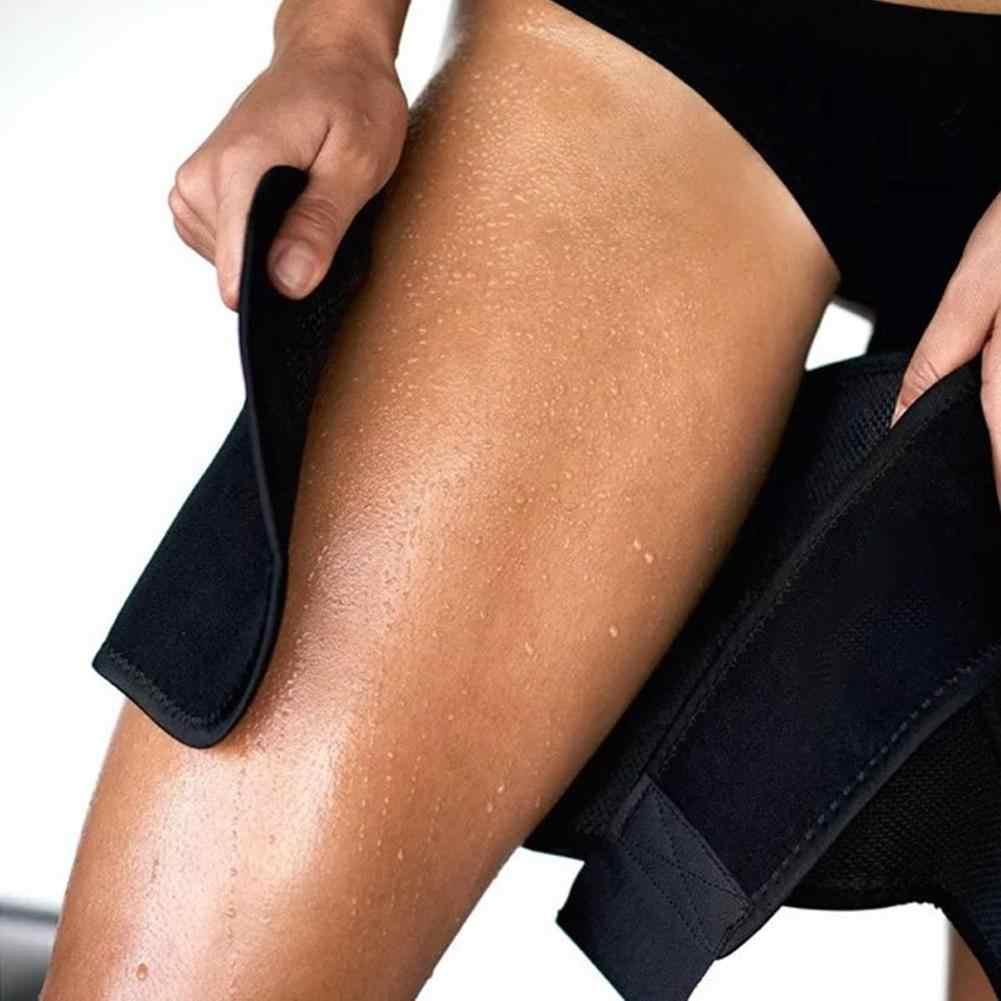 レッグシェイパー脚カロリー脂肪除去重量損失ストーブパイプゴム圧縮レギンス腿トリマー夏脚スリーブ女性