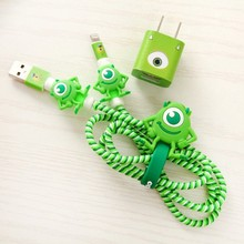 Spiral Cord protector Cable Wire Organizer Set for iPhone