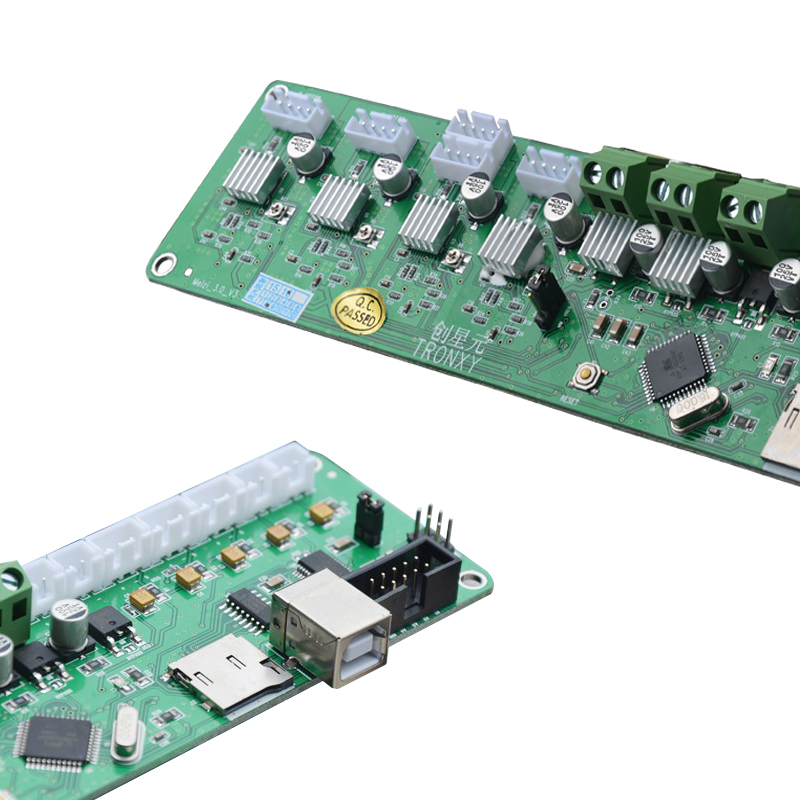 Free shipping melzi 2 0 1284p reprap control mainboard for tronxy 3d  printer controller pcb board