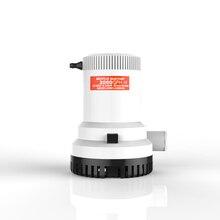 YENI SEAFLO Elektrikli pompa 2000 GPH 12 Volt DC Dalgıç Çark Pompaları Deniz Botları için RV 8.5A Aralıklı Kolay Temiz