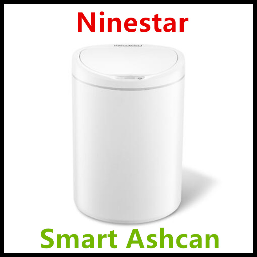 Xiaomi Eco System Brand NINESTARS Smart Trash Can Motion Sensor Auto Sealing LED Induction Cover Trash